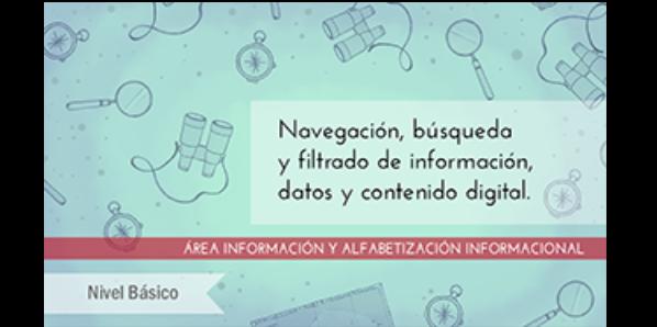 FDCD. Información y Alfabetización informacional. Navegación, búsqueda y filtrado de información, datos y contenido digital (nivel básico) (3ª ed)