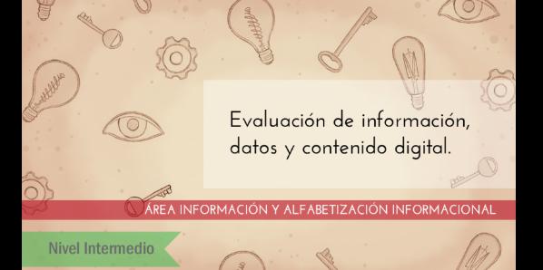 FDCD. Información y Alfabetización informacional. Evaluación de información, datos y contenido digital. (Nivel INTERMEDIO) (4ª edición)