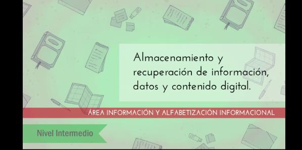 FDCD. Información y Alfabetización informacional. Almacenamiento y recuperación de información, datos y contenido digital. (Nivel INTERMEDIO ) (4ª edición)