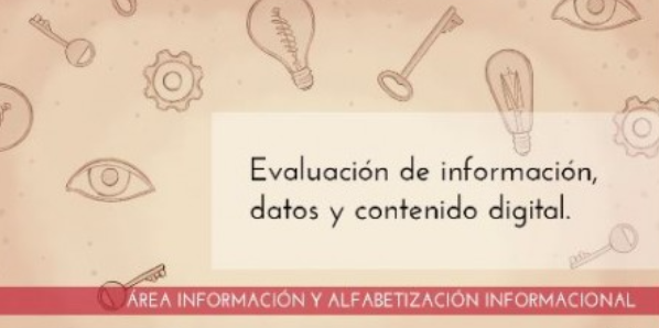 Training of teachers in digital competences: Information literacy. Evaluation of information data and digital content: basic, intermediate,                     advanced level